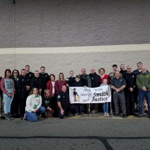 Shop with Sheriff Smith and Justice