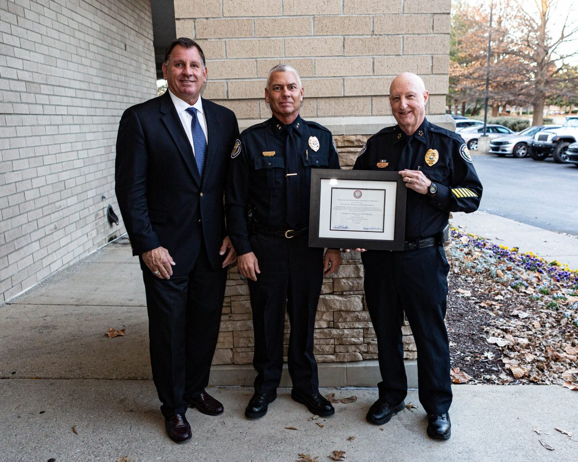 Martin Police Department Accredited for Third Time