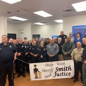 2019 Shop with Sheriff Smith and Justice