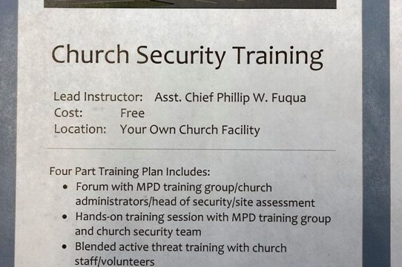 Church Security Training