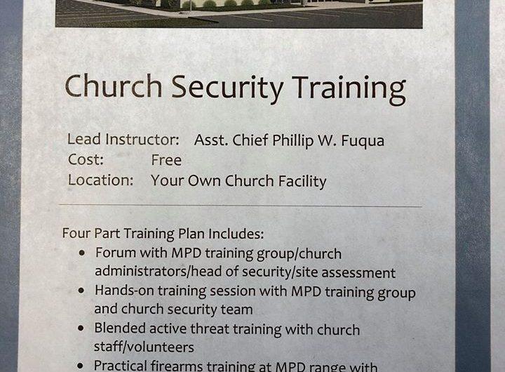 Church Security Training